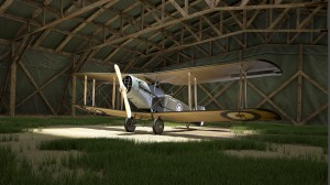 03-Explore aircraft in hangar view