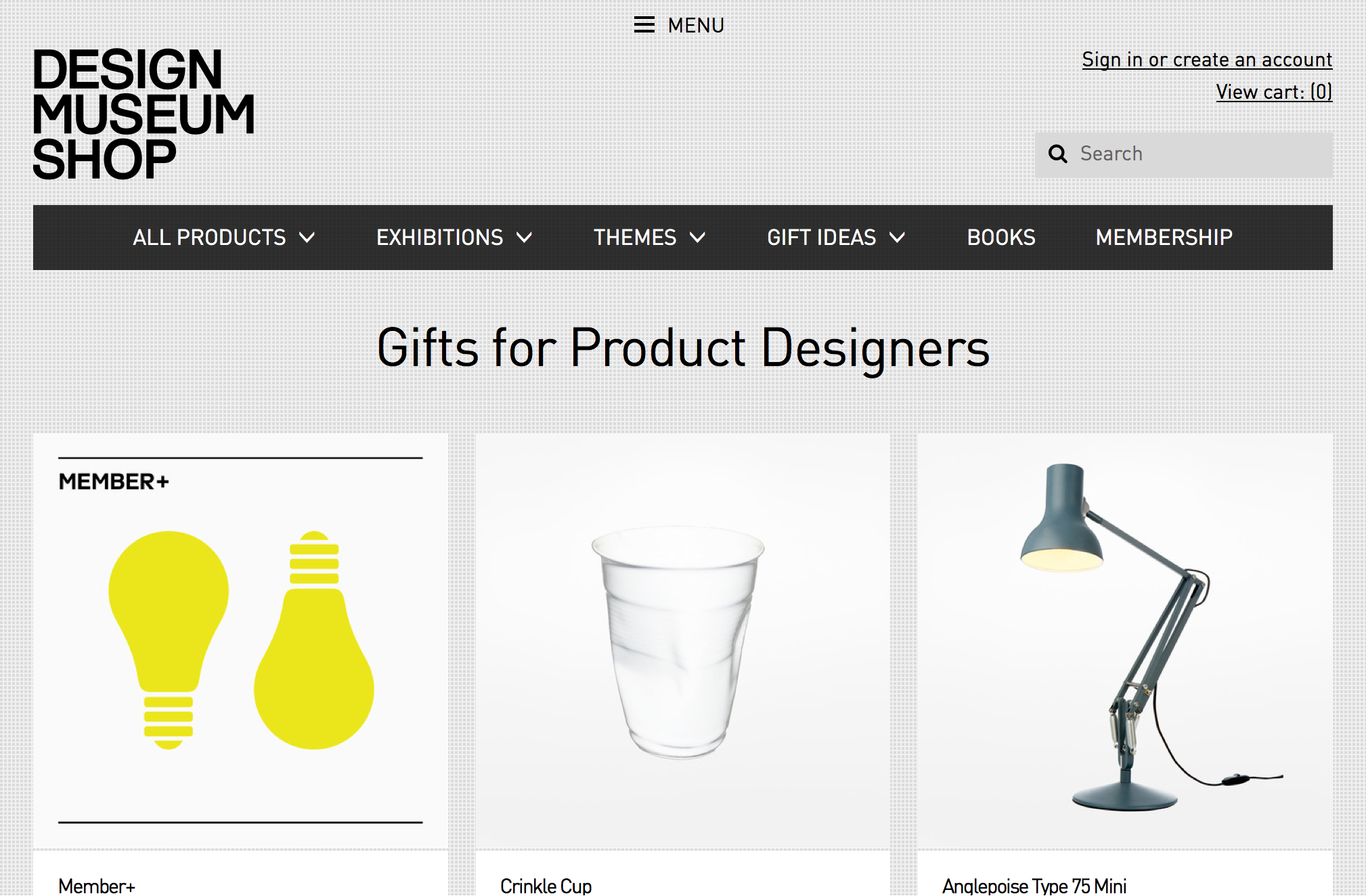 Design Museum shop online