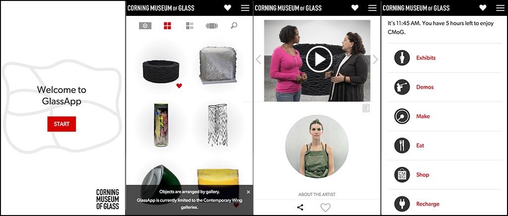 GlassAppScreens