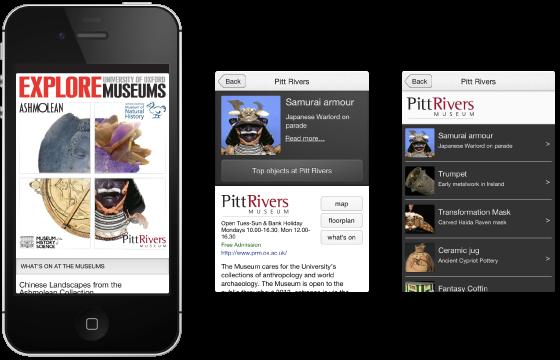 Figure 6: Explore App