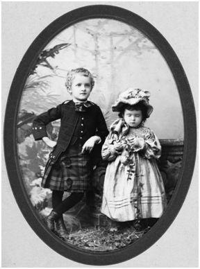 Image of Frick Digital Image Archive: Childs and Martha Frick, 1888