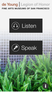 Image 2: Voices:FAMSF users can listen to recorded comments and add their own comments.