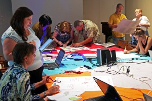 A teacher prototyping session held in Washington, D.C.