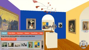 Example of gallery created using uCurate at the Phillips